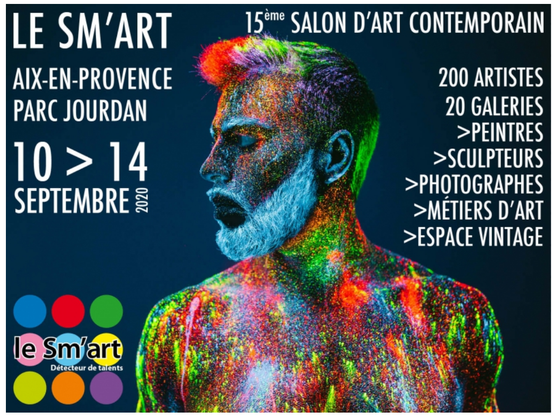 Le SM'ART – SALON D'ART CONTEMPORAIN